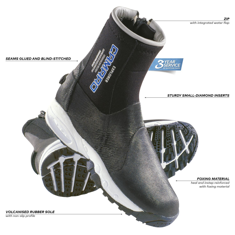45 Camaro Classic Diving Boot Black