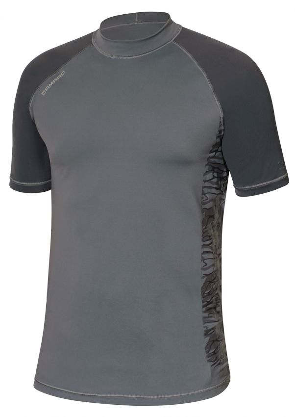 Lycra Shirt Men Shortsleeves grey
