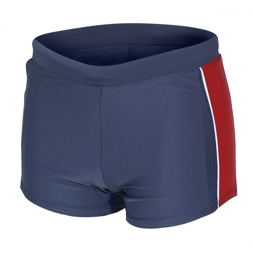 Badehose / Trunk in blau - rot