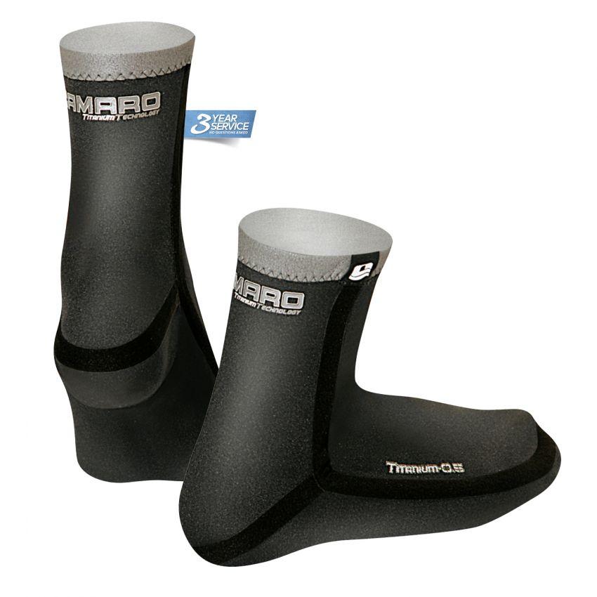 Titanium 0.5 Seamless Socks